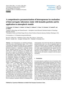 A Comprehensive Parameterization of Hete... by Hiranuma, N.