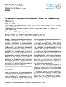 Two Hundred Fifty Years of Aerosols and ... by Smith, S. J.