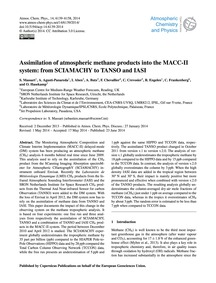 Assimilation of Atmospheric Methane Prod... by Massart, S.
