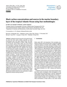 Black Carbon Concentrations and Sources ... by Pohl, K.