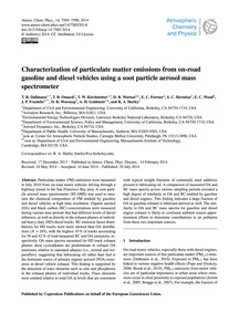 Characterization of Particulate Matter E... by Dallmann, T. R.