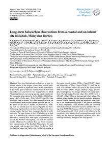 Long-term Halocarbon Observations from a... by Robinson, A. D.