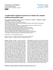 A Multi-model Evaluation of Aerosols Ove... by Pan, X.