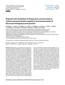 Regional-scale Simulations of Fungal Spo... by Hummel, M.