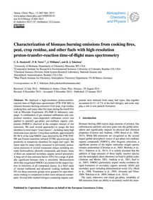 Characterization of Biomass Burning Emis... by Stockwell, C. E.