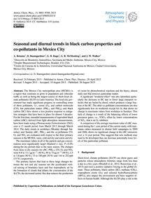 Seasonal and Diurnal Trends in Black Car... by Retama, A.