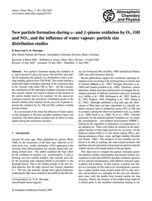 New Particle Formation During A- and B-p... by Bonn, B.