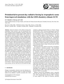 Preindustrial-to-present-day Radiative F... by Shindell, D. T.