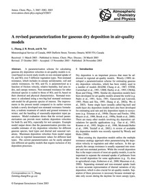 A Revised Parameterization for Gaseous D... by Zhang, L.