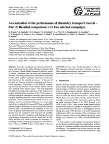 An Evaluation of the Performance of Chem... by Brunner, D.