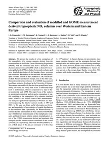 Comparison and Evaluation of Modelled an... by Konovalov, I. B.