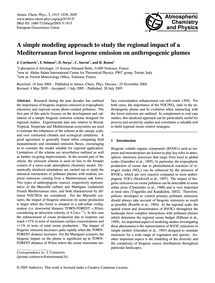 A Simple Modeling Approach to Study the ... by Cortinovis, J.