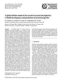A Global Off-line Model of Size-resolved... by Spracklen, D. V.