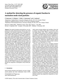 A Method for Detecting the Presence of O... by Vaattovaara, P.