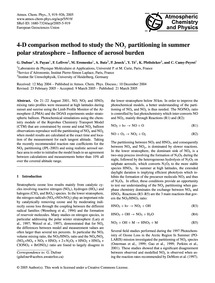 4-d Comparison Method to Study the NoY P... by Dufour, G.