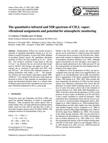 The Quantitative Infrared and Nir Spectr... by Johnson, T. J.