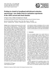 Probing Ice Clouds by Broadband Mid-infr... by Wagner, R.