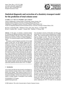 Statistical Diagnostic and Correction of... by Guillas, S.