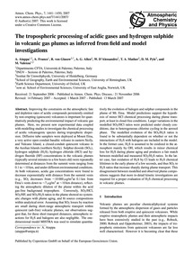The Tropospheric Processing of Acidic Ga... by Aiuppa, A.