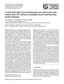 A Study of the Effect of Overshooting De... by Grosvenor, D. P.