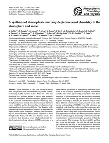 A Synthesis of Atmospheric Mercury Deple... by Steffen, A.