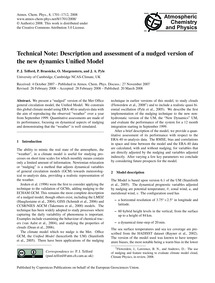 Technical Note: Description and Assessme... by Telford, P. J.