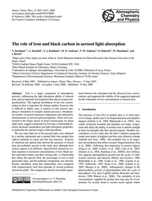 The Role of Iron and Black Carbon in Aer... by Derimian, Y.