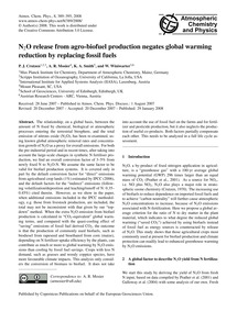 N2O Release from Agro-biofuel Production... by Crutzen, P. J.