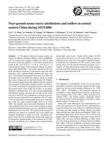 Near-ground Ozone Source Attributions an... by Li, J.