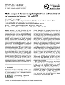 Model Analysis of the Factors Regulating... by Duncan, B. N.