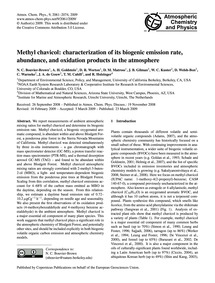 Methyl Chavicol: Characterization of Its... by Bouvier-brown, N. C.