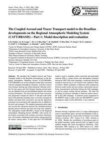 The Coupled Aerosol and Tracer Transport... by Freitas, S. R.