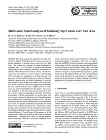 Multi-scale Model Analysis of Boundary L... by Lin, M.
