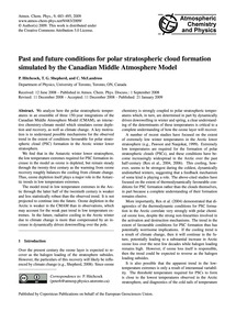 Past and Future Conditions for Polar Str... by Hitchcock, P.