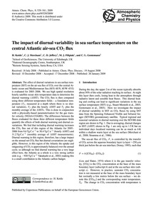 The Impact of Diurnal Variability in Sea... by Kettle, H.