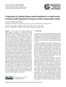 Comparison of a Global-climate Model Sim... by Lee, S. S.