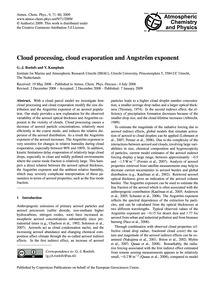 Cloud Processing, Cloud Evaporation and ... by Roelofs, G.-j.