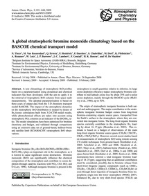 A Global Stratospheric Bromine Monoxide ... by Theys, N.