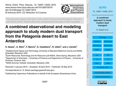 A Combined Observational and Modeling Ap... by Gassó, S.