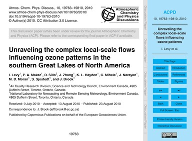 Unraveling the Complex Local-scale Flows... by Levy, I.