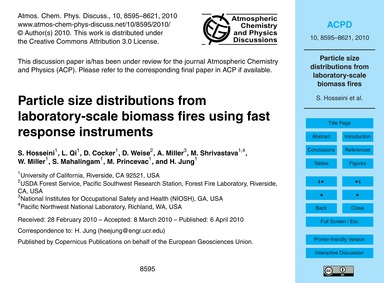 Particle Size Distributions from Laborat... by Hosseini, S.