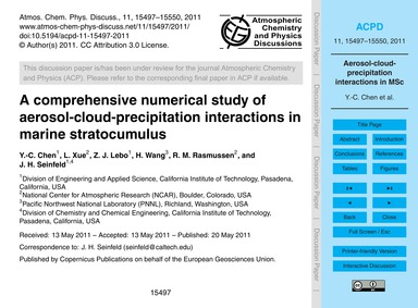 A Comprehensive Numerical Study of Aeros... by Chen, Y.-c.