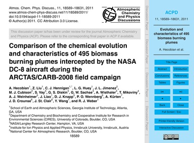 Comparison of the Chemical Evolution and... by Hecobian, A.