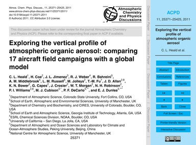 Exploring the Vertical Profile of Atmosp... by Heald, C. L.