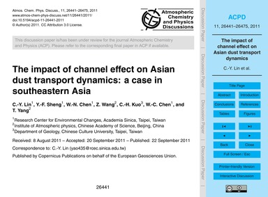 The Impact of Channel Effect on Asian Du... by Lin, C.-y.