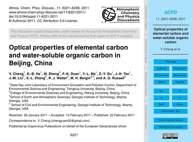 Optical Properties of Elemental Carbon a... by Cheng, Y.