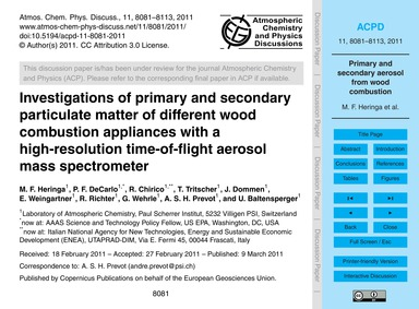 Investigations of Primary and Secondary ... by Heringa, M. F.