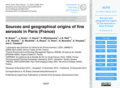 Sources and Geographical Origins of Fine... by Bressi, M.
