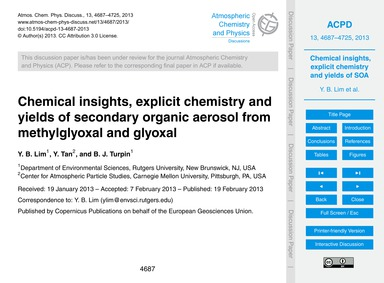 Chemical Insights, Explicit Chemistry an... by Lim, Y. B.