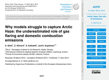 Why Models Struggle to Capture Arctic Ha... by Stohl, A.